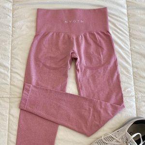 NVGTN Pink Contour Seamless Leggings - On Hold